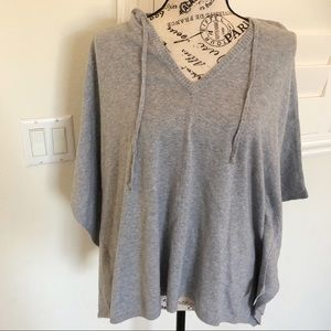 Old Navy Poncho style hooded sweater